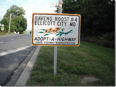Roost #4 Adopt-a-Highway Report – June 16, 2012
