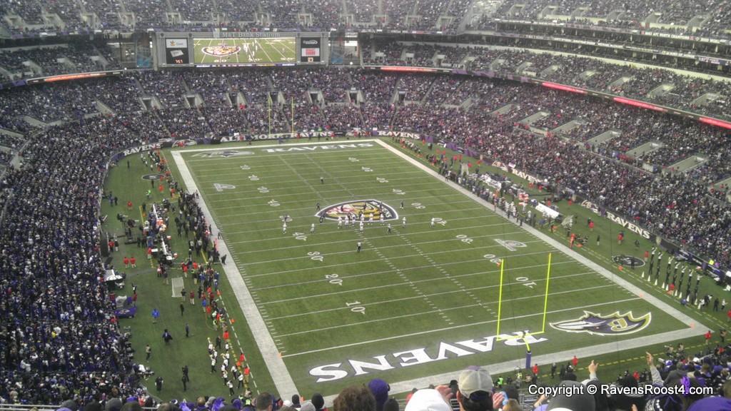 M t bank stadium ravens roost 4 for Restaurants m t bank stadium