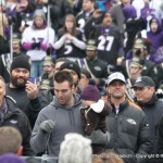 Joe Flacco had a few words...