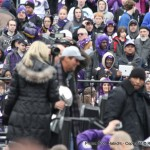 Blurry, but that is Steve Bisciotti carrying the Vince Lombardi Trophy.