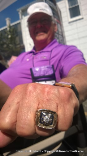 Another Baltimore Super Bowl ring, this one for the Colts.