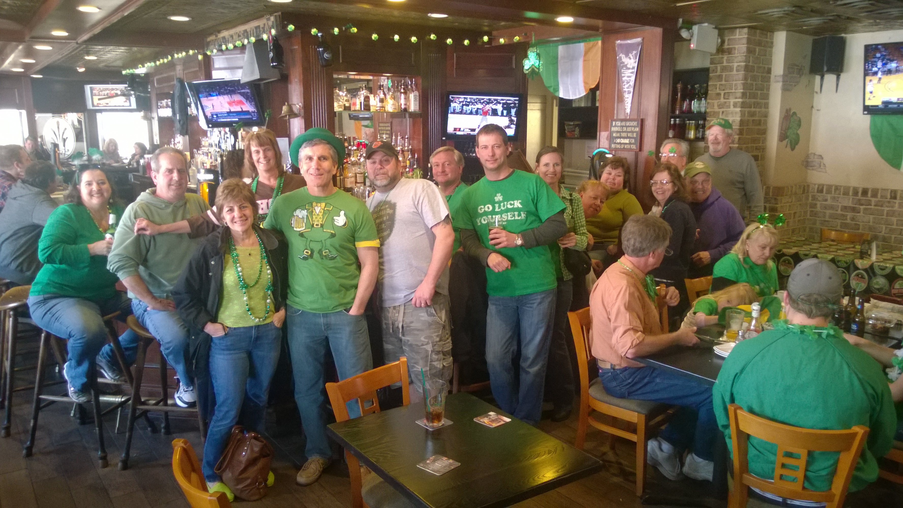 Saint Patricks Day Celebrations at Kelsey's