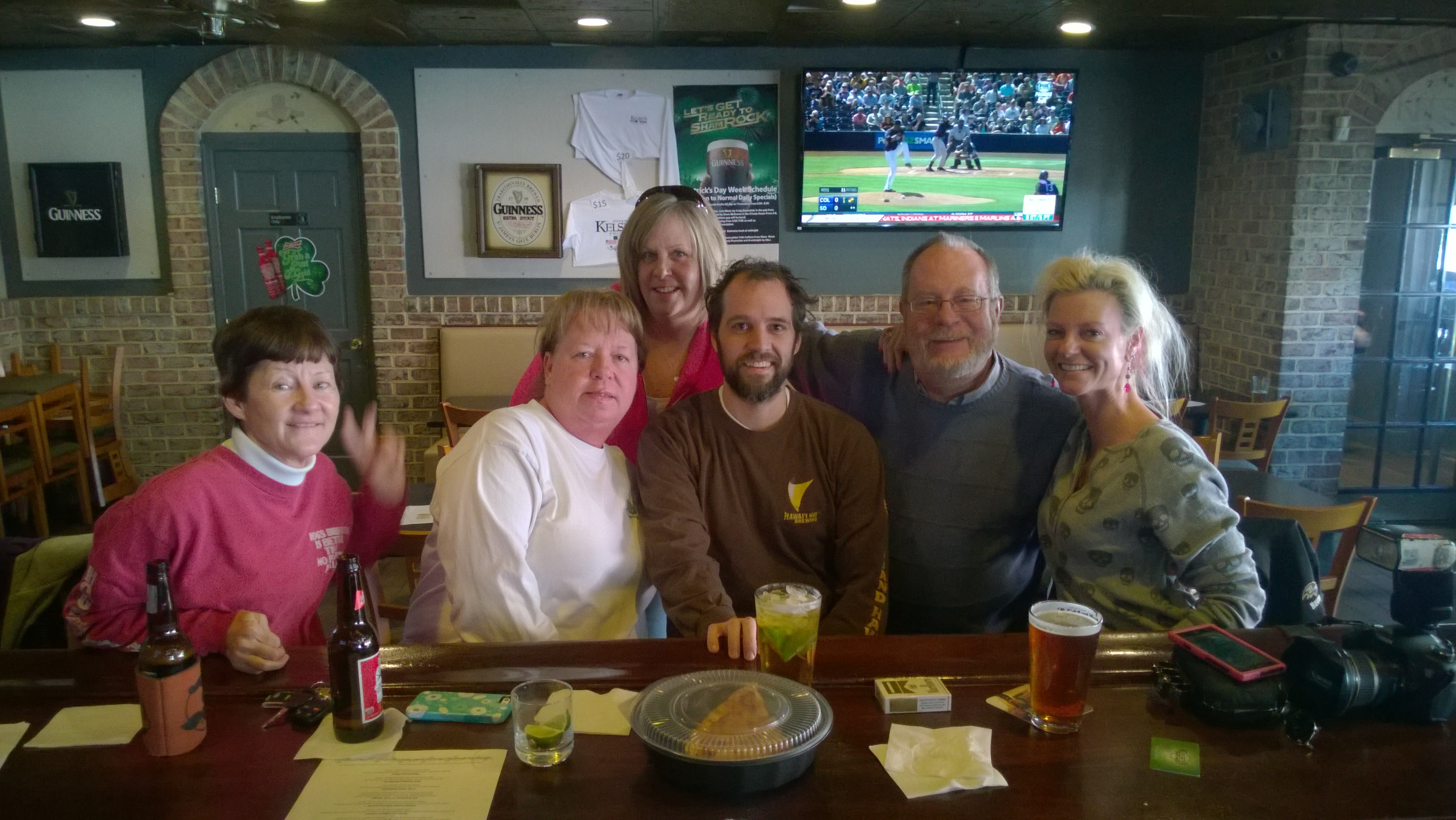 A football-less Sunday at Kelsey's