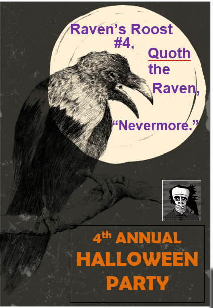 Ravens Roost 2017 Halloween Party – October 27